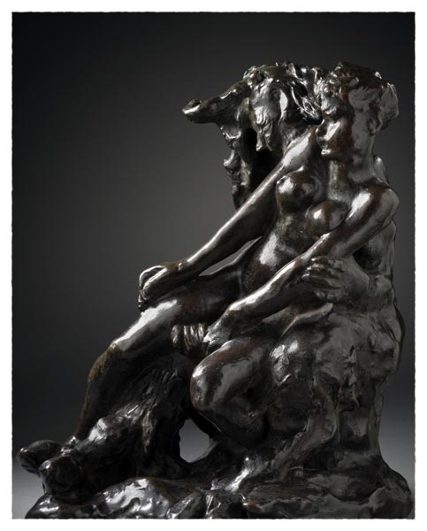 Minotaur or Faun and Nymph, Auguste Rodin