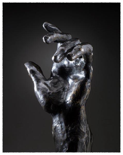 Left Hand of Pierre de Wissant, Auguste Rodin