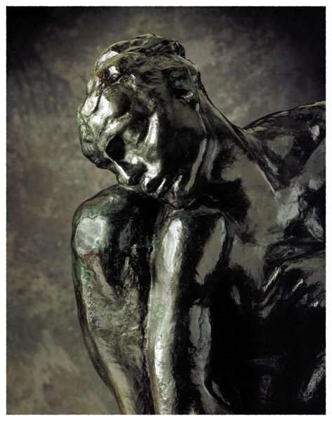 The Crouching Woman, Auguste Rodin