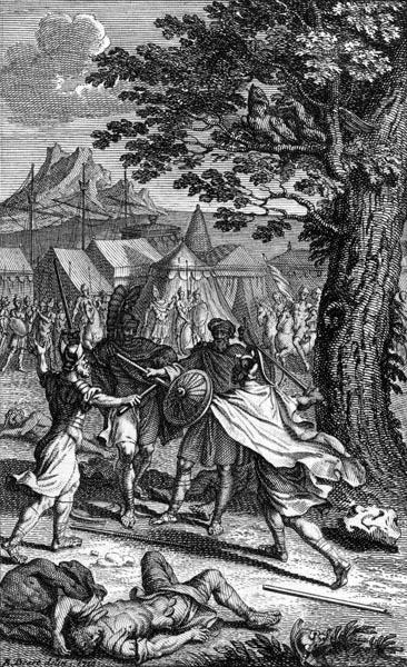 Combat between Ajax and Hector