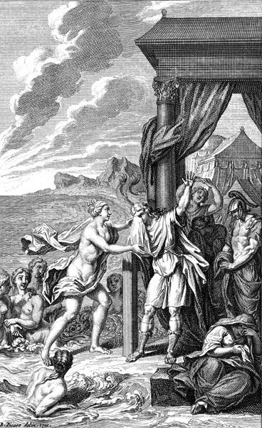 Achilles mourns Patroclus