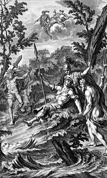 Poseidon and Athene rally Achilles
