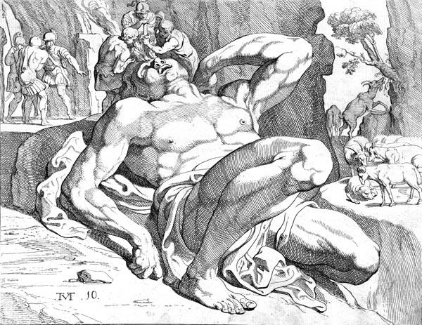 The blinding of Polyphemus