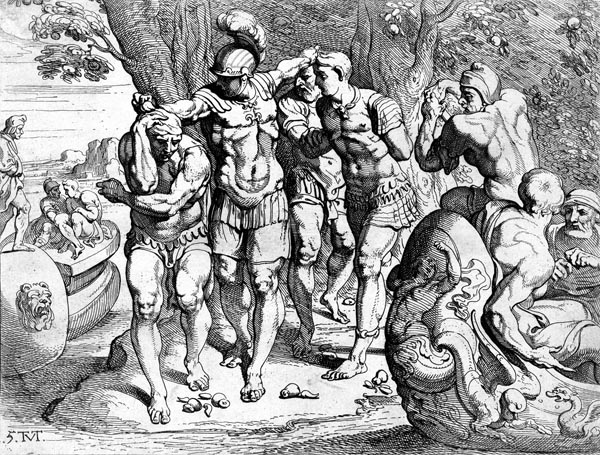 Odysseus in the Land of the Lotus Eaters