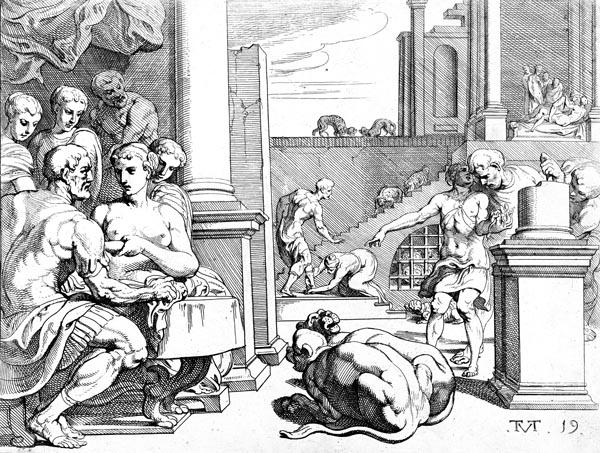 Odysseus in Circe's Palace