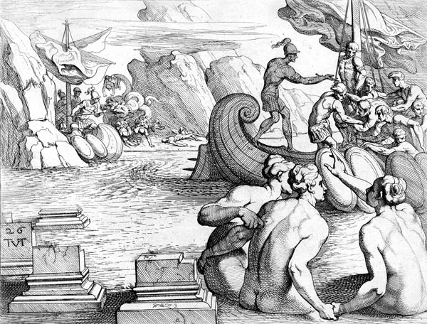 Odysseus Passes The Island Of Sirens