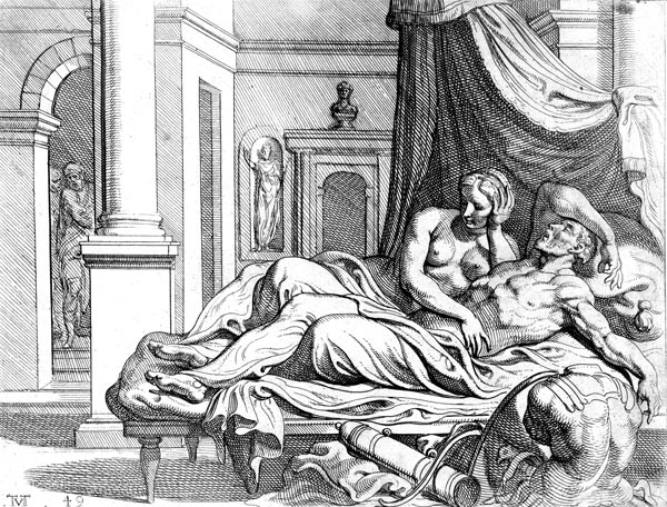 Odysseus and Penelope are reunited