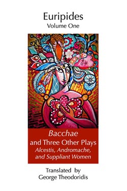 Bacchae and Three Other Plays - Cover