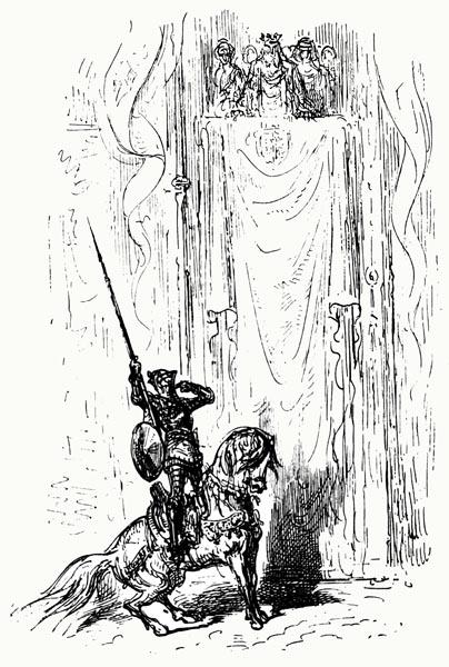 Ariosto - Orlando Furioso - Canto V: 82 (Detail)
