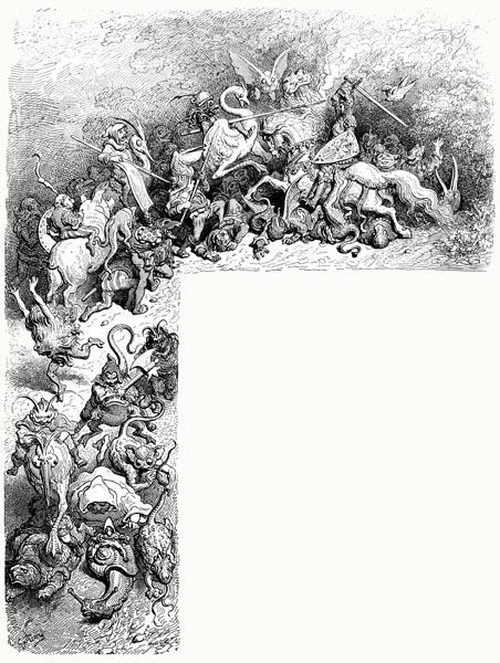 Ariosto - Orlando Furioso - Canto VII: Frontis