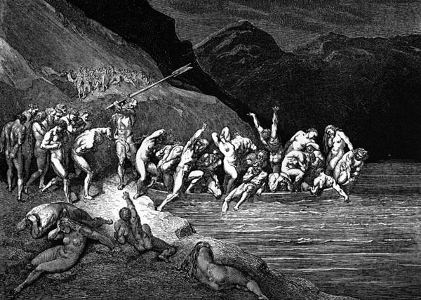 Gustave Doré Illustration - Inferno Canto 3, 35