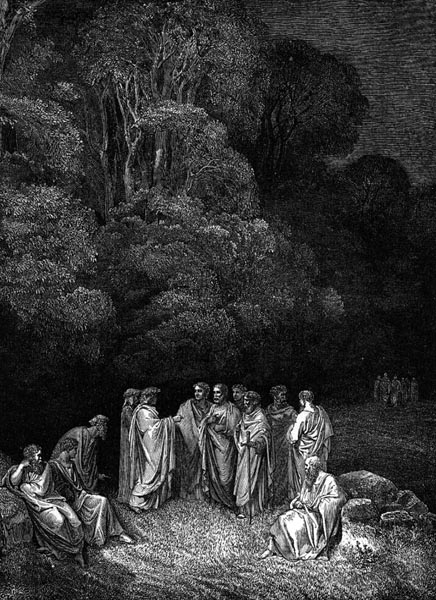 Gustave Doré Illustration - Inferno Canto 4, 43