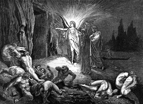 Gustave Doré Illustration - Inferno Canto 9, 101