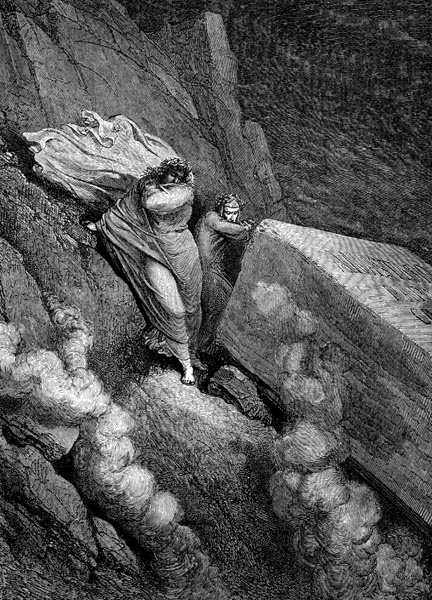 Gustave Doré Illustration - Inferno Canto 11, 115