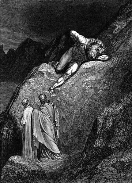 Gustave Doré Illustration - Inferno Canto 12, 123