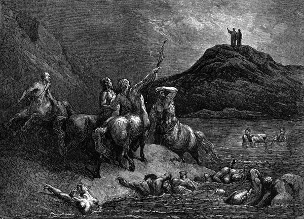 Gustave Doré Illustration - Inferno Canto 12, 127