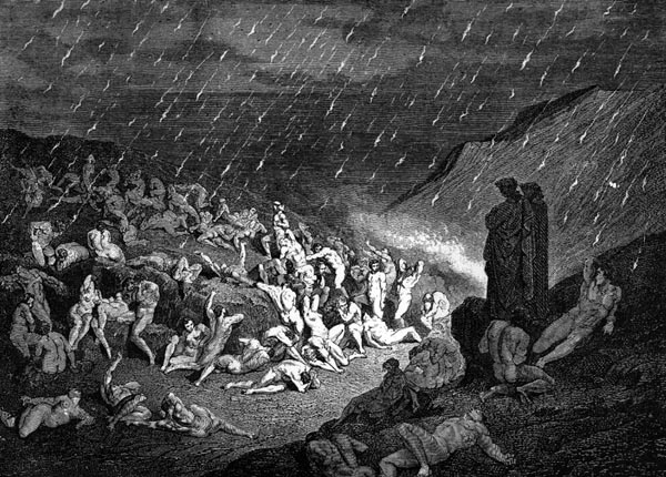 Gustave Doré Illustration - Inferno Canto 14, 147