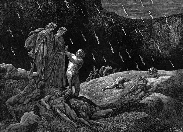 Gustave Doré Illustration - Inferno Canto 15, 155