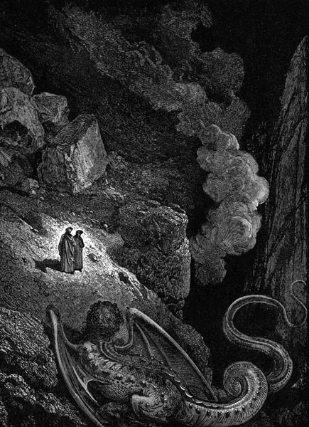 Gustave Doré Illustration - Inferno Canto 17, 167