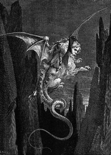 Gustave Doré Illustration - Inferno Canto 17, 171