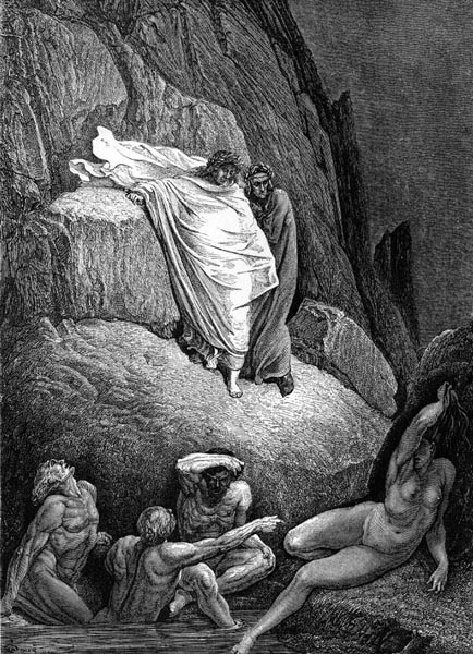 Gustave Doré Illustration - Inferno Canto 18, 183