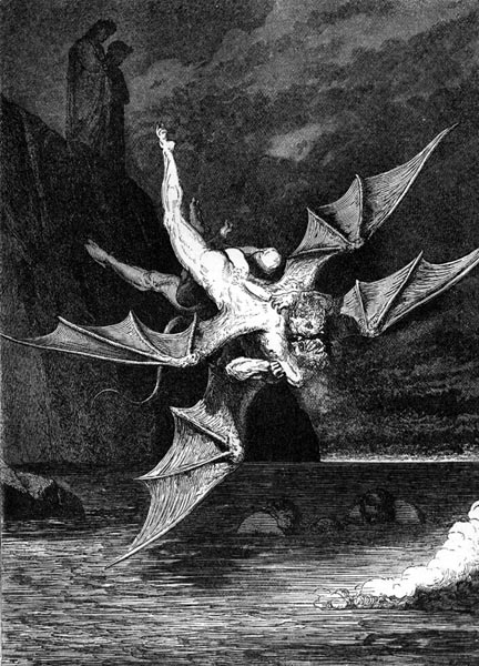 Gustave Doré Illustration - Inferno Canto 22, 215