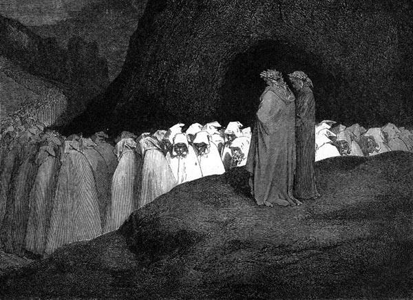 Gustave Doré Illustration - Inferno Canto 23, 223