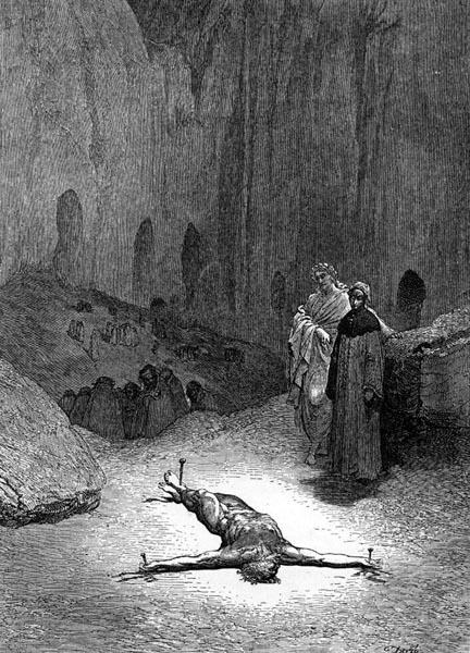 Gustave Doré Illustration - Inferno Canto 23, 225
