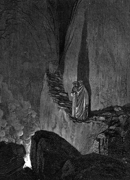 Gustave Doré Illustration - Inferno Canto 26, 245
