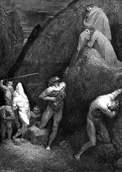 Gustave Doré Illustration - Inferno Canto 28, 259