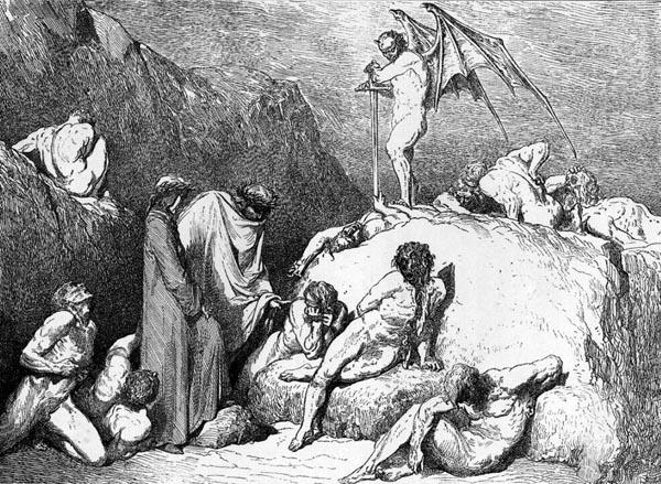 Gustave Doré Illustration - Inferno Canto 28, 261