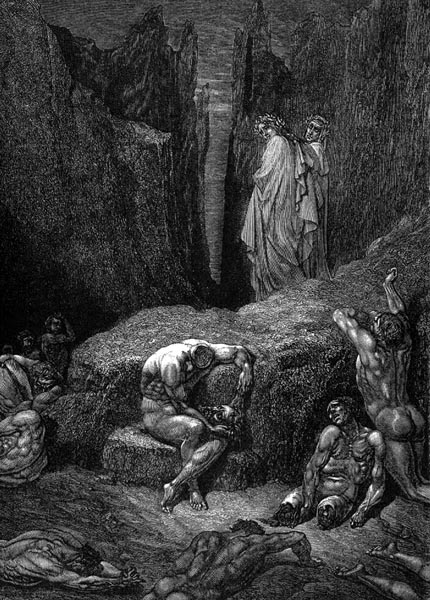 Gustave Doré Illustration - Inferno Canto 29, 269