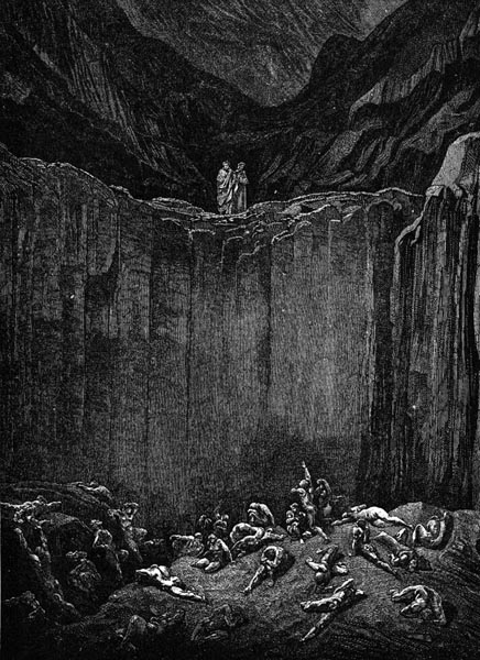 Gustave Doré Illustration - Inferno Canto 29, 273
