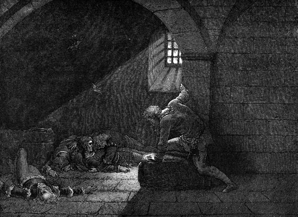 Gustave Doré Illustration - Inferno Canto 33, 317