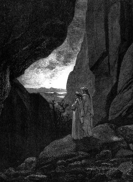 Gustave Doré Illustration - Inferno Canto 34, 329