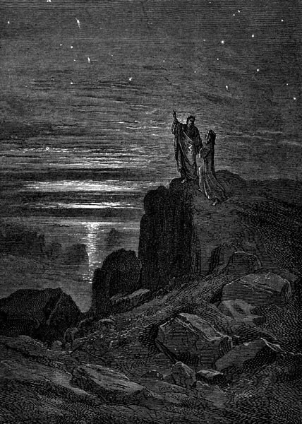 Gustave Doré Illustration - Inferno Canto 34, 331