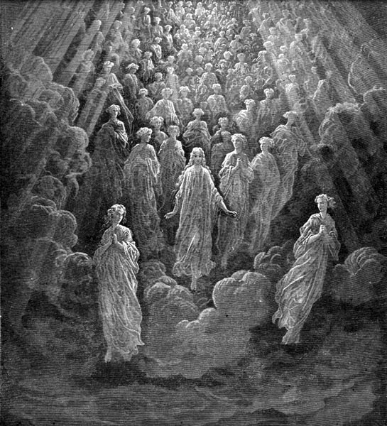 Gustave Doré Illustration - Purgatorio Canto 5, 99