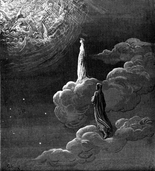 Gustave Doré Illustration - Purgatorio Canto 14, 77