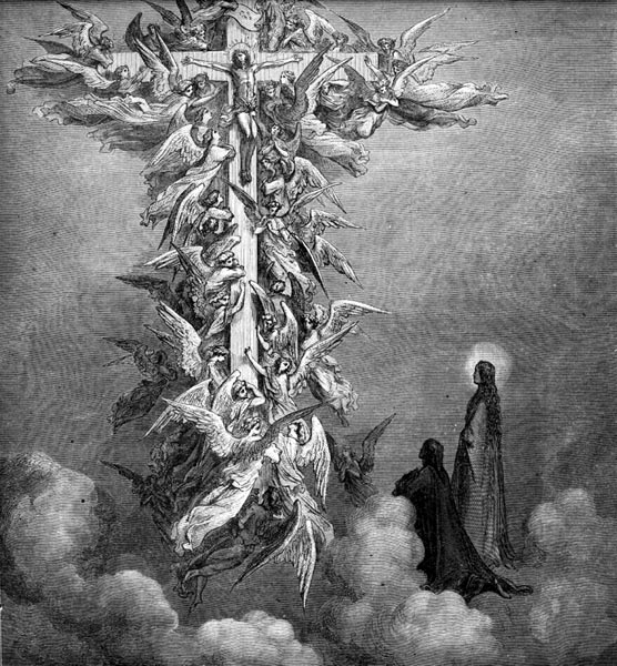 Gustave Doré Illustration - Purgatorio Canto 14, 96