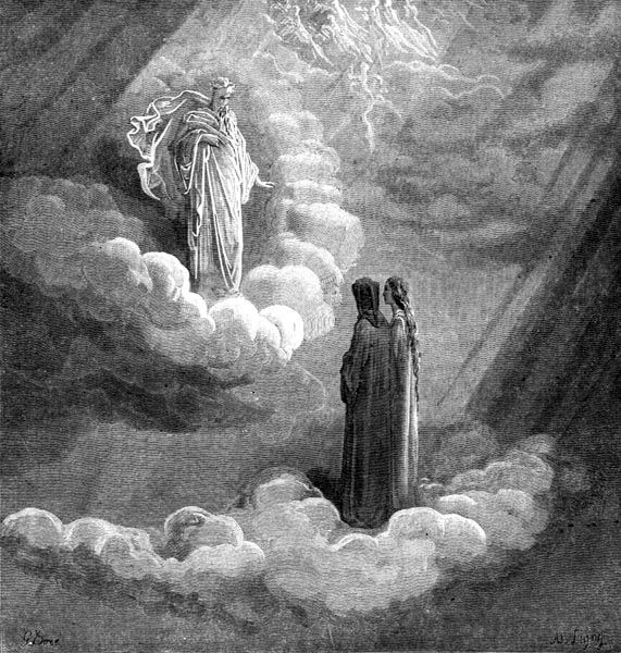 Gustave Doré Illustration - Purgatorio Canto 16, 143