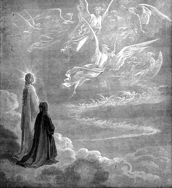 Gustave Doré Illustration - Purgatorio Canto 18, 120