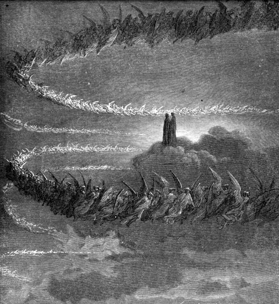 Gustave Doré Illustration - Purgatorio Canto 18, 70