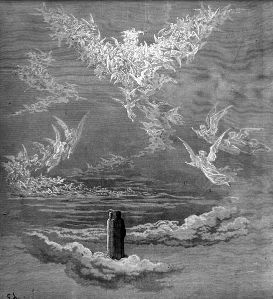 Gustave Doré Illustration - Purgatorio Canto 19, 1