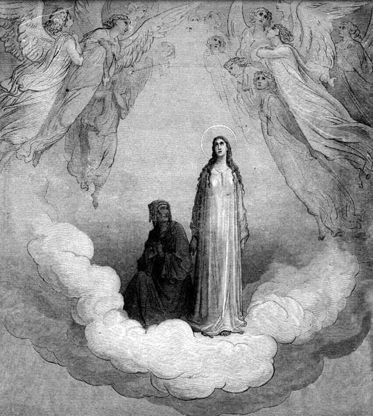 Gustave Doré Illustration - Purgatorio Canto 21, 1