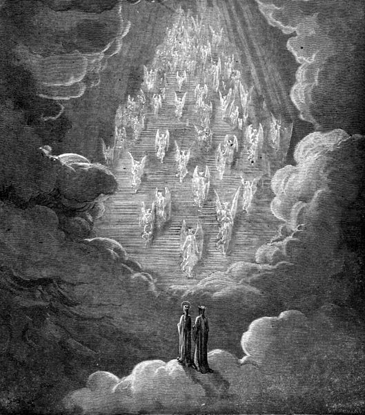 Gustave Doré Illustration - Purgatorio Canto 21, 28