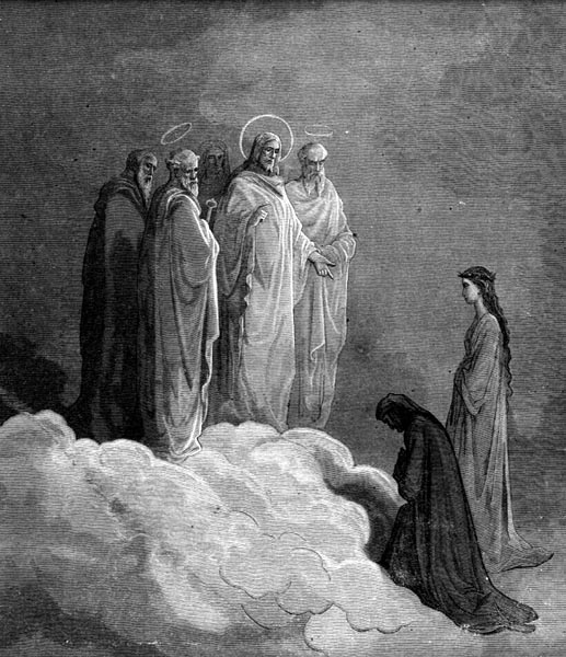 Gustave Doré Illustration - Purgatorio Canto 26, 7