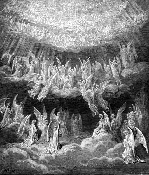 Gustave Doré Illustration - Purgatorio Canto 27, 1