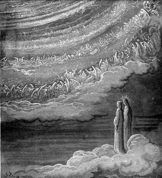 Gustave Doré Illustration - Purgatorio Canto 28, 80