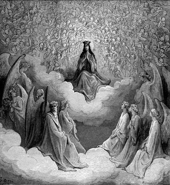 Gustave Doré Illustration - Purgatorio Canto 31, 64