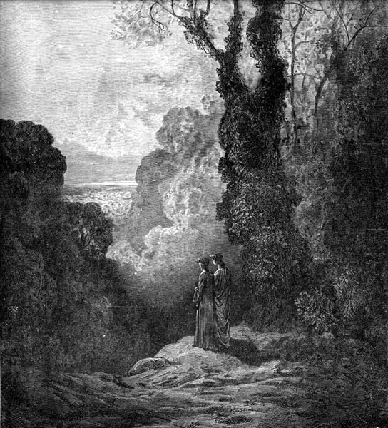 Gustave Doré Illustration - Purgatorio Canto 1, 19